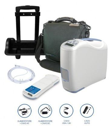 Concentratore di ossigeno portatile Inogen One G2 Alto Flusso
