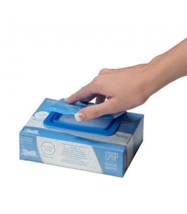 Salviette igienizzanti per maschere e CPAP