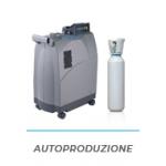 Produzione di ossigeno casalinga