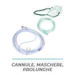 Cannule, prolunghe e maschere O2