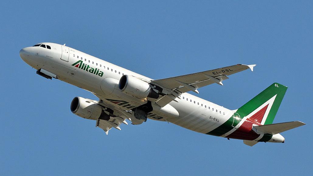 Concentratore ossigeno Alitalia